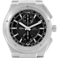 IWC Ingenieur Automatic Chronograph Black Dial Mens Watch IW372501