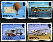 1973 JERSEY AVIATION HISTORY Stamps SG 89-92 MNH Balloon Mail Presentation Pack