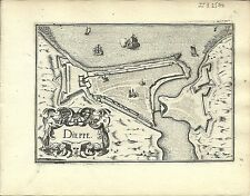 Carte antique, DIEPPE