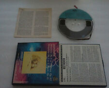ERNEST ANSERMET Beethoven Symphony No. 5 & No.1 4 TRACK Reel To Reel Tape