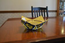 Quilted microwave bowl / pot holder / hugger  (cozy)  Michigan Wolverines