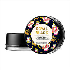 [DearPacker] Royal Black Tea & Black Rose Mask 100ml Korean cosmetic