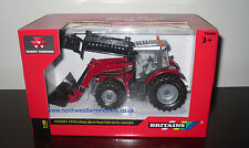 43082A1 BRITAINS FARM 1/32 MASSEY FERGUSON 6616 WITH LOADER MODEL TRACTOR (MIB)