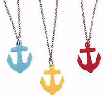 12 Anchor Necklaces Sailor,Tropical,Luau,Beach,Pool Themed Party Gifts,FavorsNEW