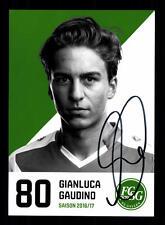 Gianluca Gaudino Autogrammkarte FC St Gallen 2016-17 Original Signiert+A 144036