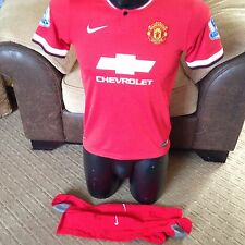 VAN PERSIE 2014-15 Manchester United Football Shirt Top Large Boys Age 12-13