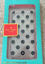 GENUINE KATE SPADE LE PAVILLION POLKA DOT CLEAR IPHONE 6 6S CASE COVER NEW