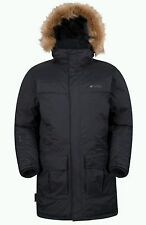 Mountain Warehouse Antarctic Extreme Mens Down Parker Jacket Coat - SIZE XL/TG