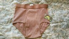 DSCP Briefs Underwear Mens Size 36 Brown Military Issue USGI Tactical Army