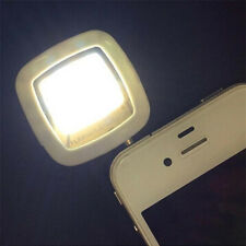 White 16 LED Portable Smartphone Selfie Flash Fill Light + Cable For IOS Android