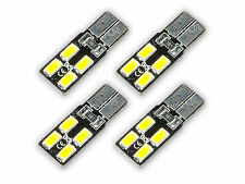 4x 4 SMD 5630 Chip LED T10 W5W XENON weiß 6000K Innenraumbeleuchtung L95