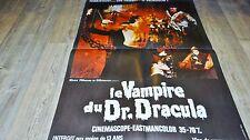 LE VAMPIRE DU Dr DRACULA  ! p nashi affiche cinema 1968