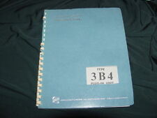 Tektronix Type 3B4 Plug-In Unit Instruction Manual--1964