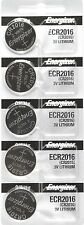 5 pcs 2016 Energizer Watch Batteries CR2016 CR 2016Original Lithium Battery 0%HG