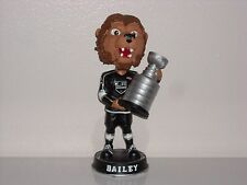 BAILEY Los Angeles Kings Mascot Bobble Head Stanley Cup Trophy 2012 Kid's Club