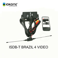Mobile Car DVD GPS ISDB-T Digital TV Tuner Receiver Box for South America Brazil