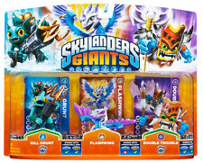 Skylanders Flashwing+G.Grunt+DTrouble(G) WII PS3 XBOX360 3DS WIIU
