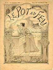 Cuisine-1893 : LE POT-AU-FEU, n°11.Pudding de cabinet,Gigot bouilli à l'Anglaise