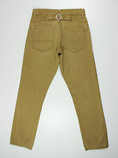 Twisted Soul mens size 28w short leg 30L high rise camel slim fit jeans