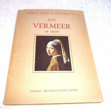 JAN VERMEER OF DELFT NETHERLANDS 16 SUPERB COLORED PLATES PAINTINGS