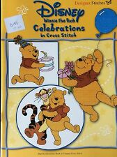 Designer Stitches Counted Cross Stitch -Disney Winnie The Pooh Celebrations Book