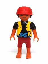 Playmobil Figure Pirate Ship Ethnic Hispanic Boy Child w/ Headwrap 4139
