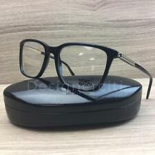 MONT BLANC MB0544 MB 544 Eyeglasses Black Gold 001 Authentic 57mm