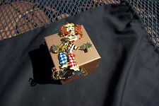 Lunch at the Ritz Vintage Authentic Huge Clown Pin / Pendant Brooch Beautiful!