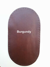 Genuine Leather Elbow Patches Black - Brown - Grey - Beige - Brown  12 COLORS