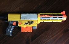 Nerf N-strike Recon CS-6 w/ Barrel Extension and Magazine Clip Yellow