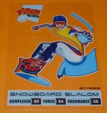 SNOWBOARD SLALOM CARTE PITCH CLASSICAL TEAM PASQUIER 2011 SPORTS PANINI