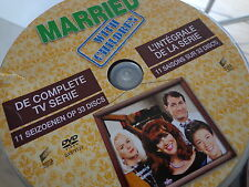 MARRIED WITH CHILDREN : COMPLETE SERIE L'INTEGRALE 33 dvd box set NIEUW neuf