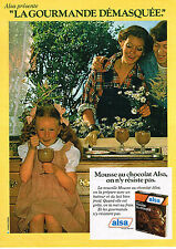 PUBLICITE ADVERTISING 034   1979   ALSA   mousse au chocolat