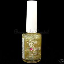 Love My Nails by Bari Nail Polish- ANGEL BABY #1541 Clear w/ Iridescent Glitter