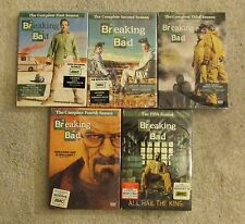 breaking bad  dvds   season 1-5   bryan cranston