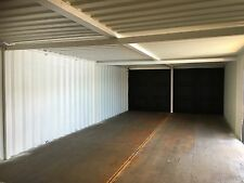 Very Secure 40foot Long X 16 Foot Wide Linked Container Workshop.. Strengthened.