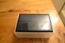 Pequeña Caja de proyecto solar de 6v. para el desarrollo IOT ESP8266 Ideal USB 0.6 vatios para armar uno mismo