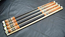 FREE SHIPPING COST LOT OF 4 POOL CUES New 1/2 Maple Billiard Pool Cue Stick #13