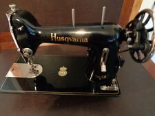 VINTAGE HUSQVARNA SEWING MACHINE NEW MOTOR AND FOOT CONTROLLER