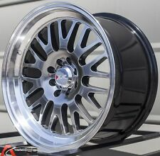 17X8 XXR 531 WHEELS 4X100/114.3 +25MM 73.1 CHROMIUM BLACK W/ML FITS CIVIC MIATA