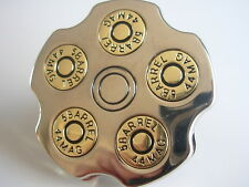 NEW BULLET REVOLVING FASHION BELT BUCKLE GIFTS BELTS AND BUCKLES UK