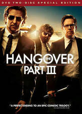 The Hangover Part III (DVD, 2013, 2-Disc Set, Special Edition) VERY GOOD