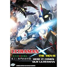 Ultraman X The Movie: Here It Comes Our Ultraman Japanese Anime DVD English Sub