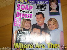 SOAP OPERA DIGEST 6/2000~AW 1 Year Later ~Timothy Gibbs~Katherine Kelly Lang