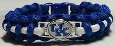 University of Kentucky; Wildcats Blue & White Paracord Bracelet or Lanyard