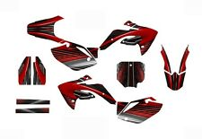 CRF 150R graphics decal kit 2007 - 2015 Free Custom Service  #3333Red