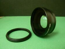 KAW BK 49mm 0.45X Wide-Angle Lens + Adapter Ring For Fujifilm Fuji X100T X70