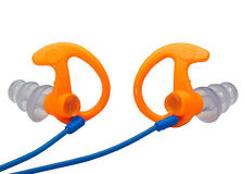 SureFire EP5 Earplugs Orange Medium Sonic Defenders Triple-Flanged 26dB w/ Case