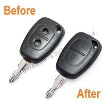 For Vauxhall Vivaro 2 button remote key fob REPAIR REFURBISHMENT SERVICE Opel
