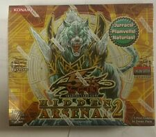 Yugioh First Edition Hidden Arsenal 2 English Booster Box 1st edition . L@@K